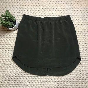 EUC Madewell sun garden shirttail skirt